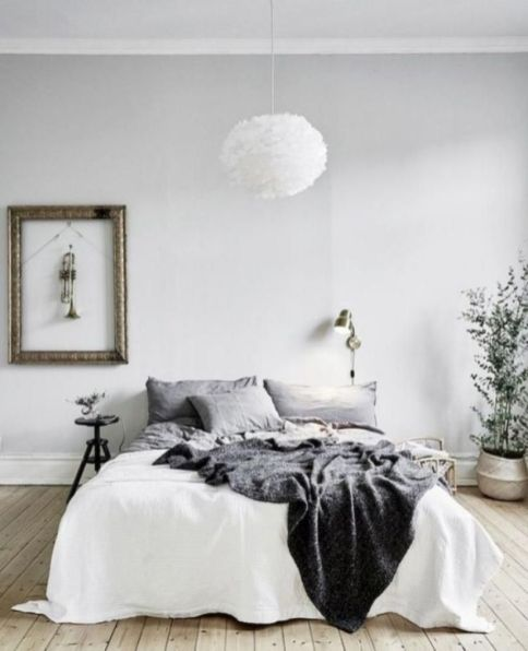 Stunning minimalist bedroom ideas on a budget 33