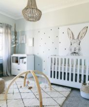 Stylish baby room design and decor ideas 32