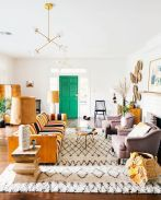 Stylish gold living room design ideas you will love 06
