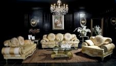 Stylish gold living room design ideas you will love 17