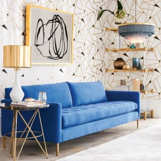 Stylish gold living room design ideas you will love 38