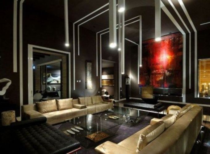 Stylish gold living room design ideas you will love 47
