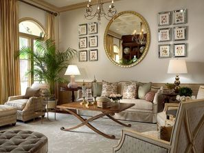 Stylish gold living room design ideas you will love 48