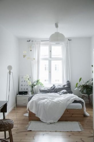 Totally inspiring scandinavian bedroom interior design ideas 08