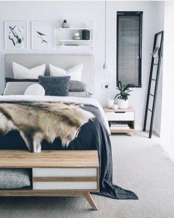 Totally inspiring scandinavian bedroom interior design ideas 09