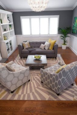 Unusual tiny living room design ideas for tiny house 59