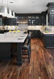 Amazing black kitchen design ideas 29