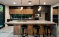 Amazing black kitchen design ideas 43