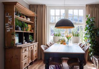 Amazing dinning room ideas with natural farmhouse style 01