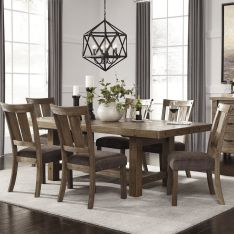 Amazing dinning room ideas with natural farmhouse style 05