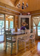 Amazing dinning room ideas with natural farmhouse style 06