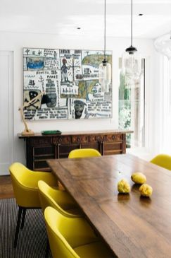 Amazing dinning room ideas with natural farmhouse style 15