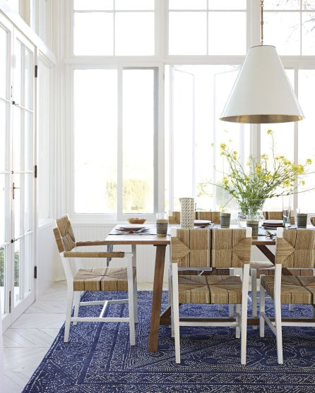 Amazing dinning room ideas with natural farmhouse style 35