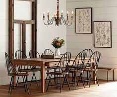 49 Amazing Dinning Room Ideas With Natural Farmhouse Style