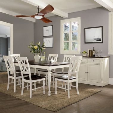 Amazing dinning room ideas with natural farmhouse style 50
