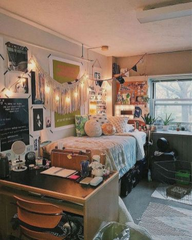 Beautiful dorm room organization ideas 08
