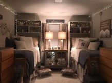 Beautiful dorm room organization ideas 18