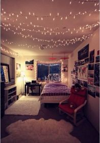 Beautiful dorm room organization ideas 32
