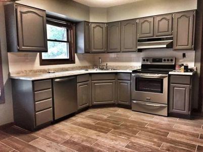 Creative kitchen cabinets makeover ideas 10