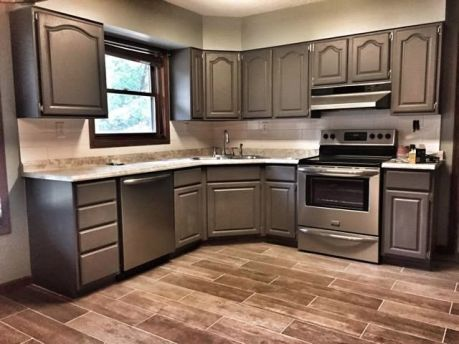 Creative kitchen cabinets makeover ideas 10