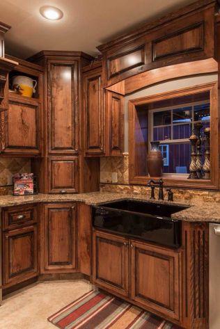 Creative kitchen cabinets makeover ideas 17
