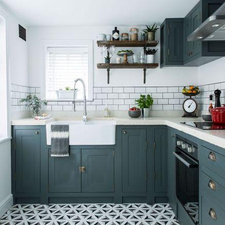 Creative kitchen cabinets makeover ideas 19