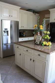 Creative kitchen cabinets makeover ideas 26