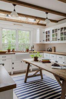 Creative kitchen cabinets makeover ideas 42
