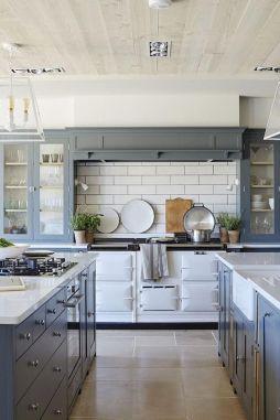 Creative kitchen cabinets makeover ideas 45