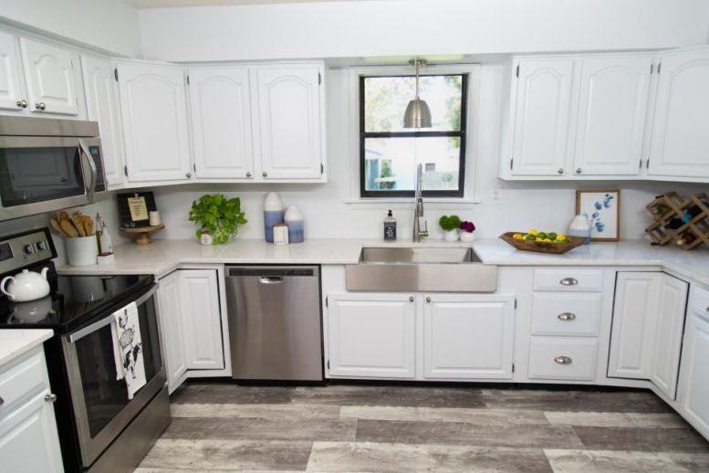 Creative kitchen cabinets makeover ideas 48