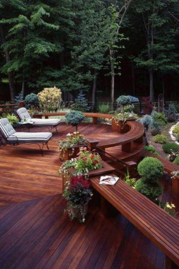 Fabulous porch design ideas for backyard 33