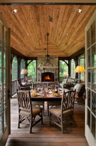 Fabulous porch design ideas for backyard 41