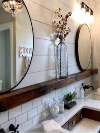 Fabulous small farmhouse bathroom design ideas 39