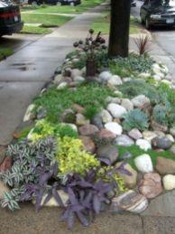 Great front yard rock garden ideas 03