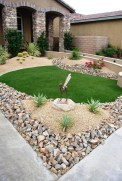 Great front yard rock garden ideas 19