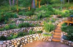 Great front yard rock garden ideas 52