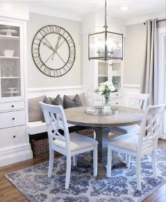 Modern spring dining room decoration ideas 09
