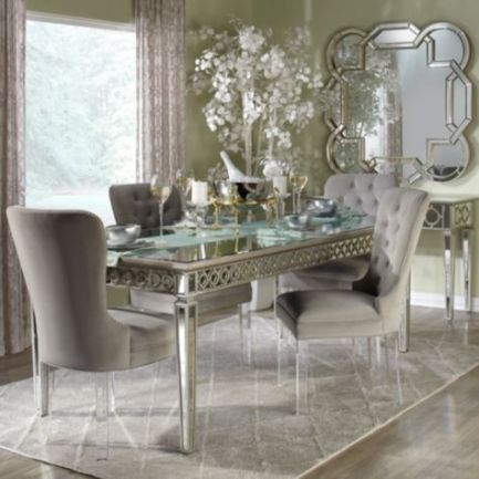 Modern spring dining room decoration ideas 19