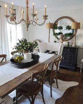 Modern spring dining room decoration ideas 22