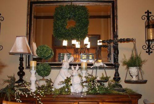 Modern spring dining room decoration ideas 23