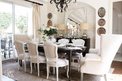 Modern spring dining room decoration ideas 26