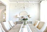 Modern spring dining room decoration ideas 35