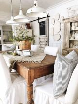 Modern spring dining room decoration ideas 36
