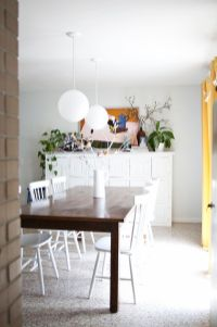 Modern spring dining room decoration ideas 39