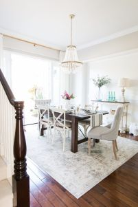 Modern spring dining room decoration ideas 40