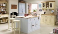 Popular modern french country kitchen design ideas 30