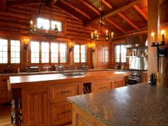 Popular modern french country kitchen design ideas 35