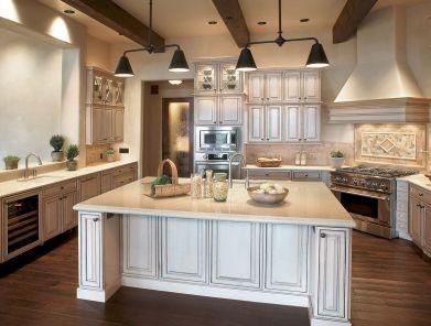 Popular modern french country kitchen design ideas 39