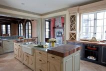 Popular modern french country kitchen design ideas 42