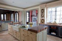 Popular modern french country kitchen design ideas 42